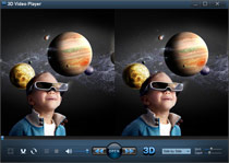 Choose the video file you'd like to watch in 3D