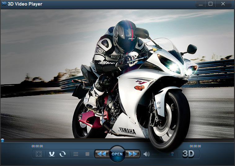 3D Video Player Screen shot