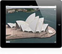Apple 3D Maps Flyover preview