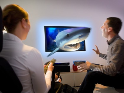 Phillips 3D TV without glasses