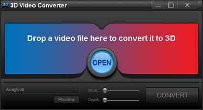 Açık 3D Video Converter