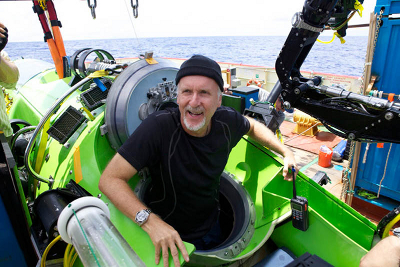 James Cameron Deepsea Challenge reached 11-kilometer underwater depth