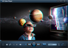 Screen 3D VideoPlayer - 3D on