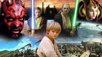 Star Wars Episode I The Phantom Menace characters preview