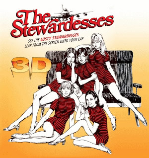 Poster for The Stewardesses 3D film