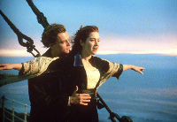preview of the scene from the movie Titanic