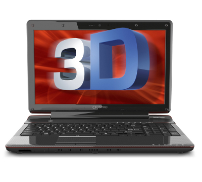 toshiba glasses free 3d laptop